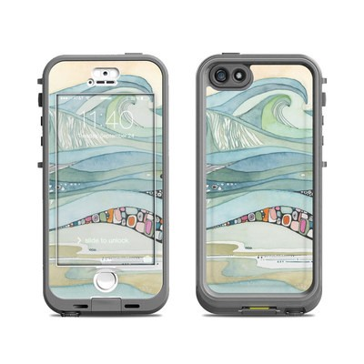 Lifeproof iPhone 5S Nuud Case Skin - Sea of Love