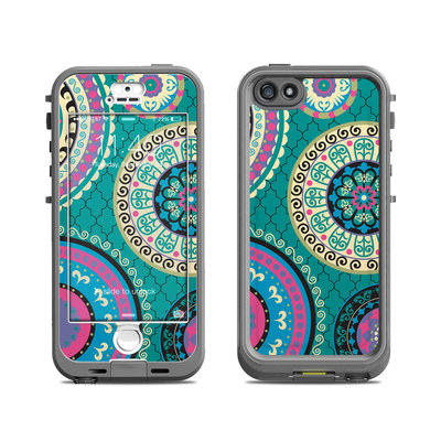 Lifeproof iPhone 5S Nuud Case Skin - Silk Road
