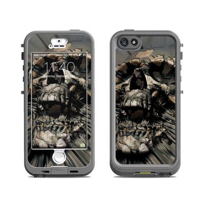 Lifeproof iPhone 5S Nuud Case Skin - Skull Wrap