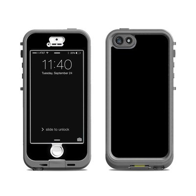 Lifeproof iPhone 5S Nuud Case Skin - Solid State Black