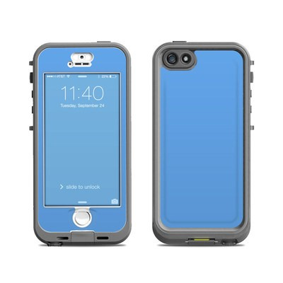 Lifeproof iPhone 5S Nuud Case Skin - Solid State Blue