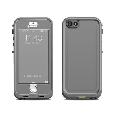 Lifeproof iPhone 5S Nuud Case Skin - Solid State Grey