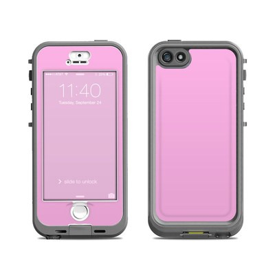 Lifeproof iPhone 5S Nuud Case Skin - Solid State Pink