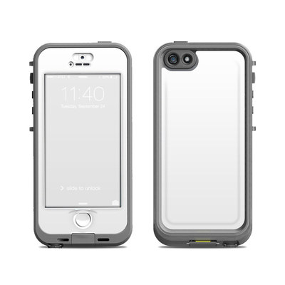 Lifeproof iPhone 5S Nuud Case Skin - Solid State White