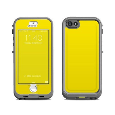 Lifeproof iPhone 5S Nuud Case Skin - Solid State Yellow