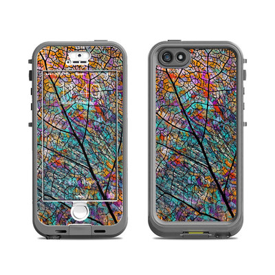 Lifeproof iPhone 5S Nuud Case Skin - Stained Aspen