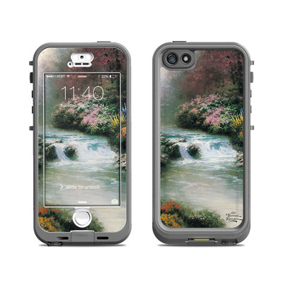 Lifeproof iPhone 5S Nuud Case Skin - Beside Still Waters
