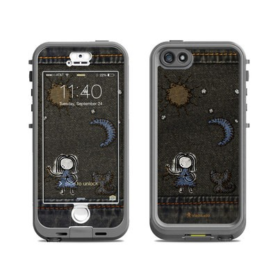 Lifeproof iPhone 5S Nuud Case Skin - Stitching
