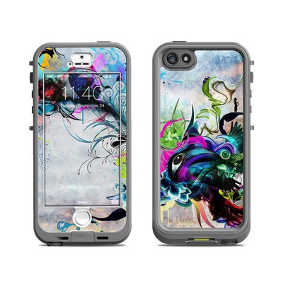 Lifeproof iPhone 5S Nuud Case Skin - Streaming Eye