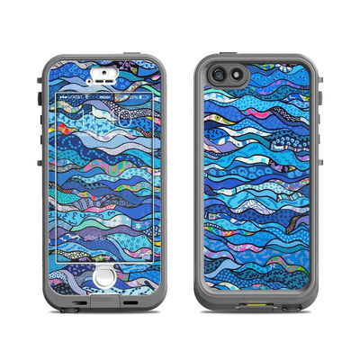 Lifeproof iPhone 5S Nuud Case Skin - The Blues