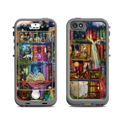 Lifeproof iPhone 5S Nuud Case Skin - Treasure Hunt