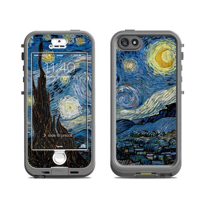 Lifeproof iPhone 5S Nuud Case Skin - Starry Night
