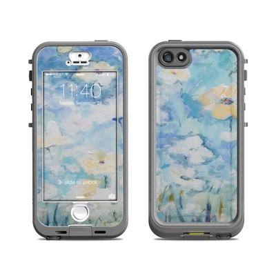 Lifeproof iPhone 5S Nuud Case Skin - White & Blue