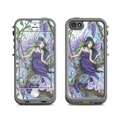 Lifeproof iPhone 5S Nuud Case Skin - Wisteria