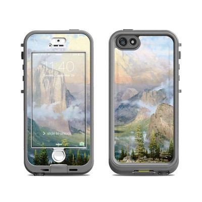 Lifeproof iPhone 5S Nuud Case Skin - Yosemite Valley