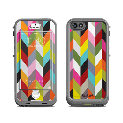 Lifeproof iPhone 5S Nuud Case Skin - Ziggy Condensed