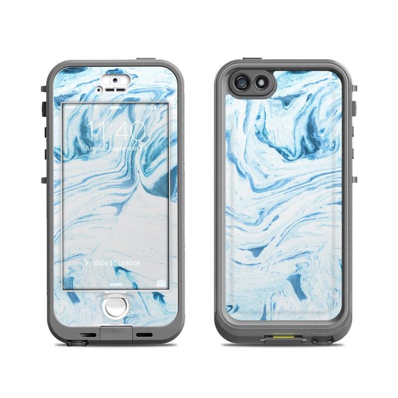 designer fashion 88cd5 06039 Lifeproof iPhone 5S Nuud Case Skin - Azul Marble