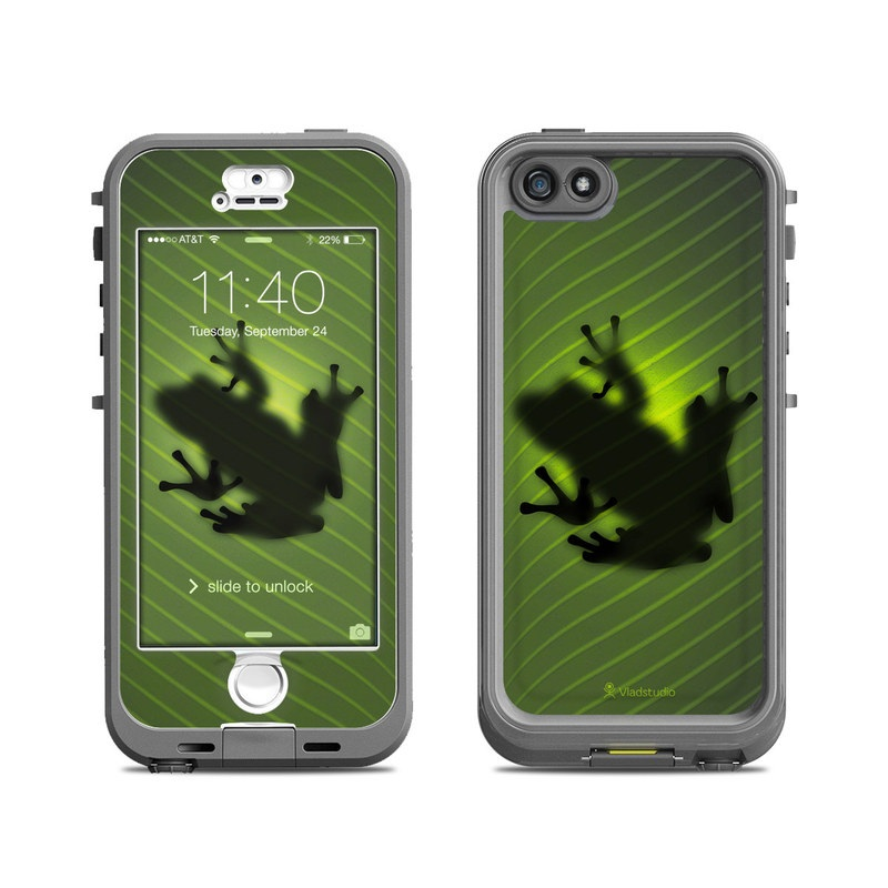 outlet store 5d409 5270a Lifeproof iPhone 5S Nuud Case Skin - Frog