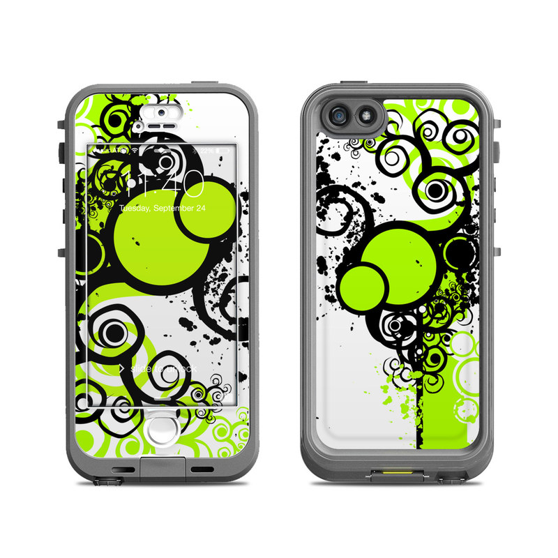 buy popular 890ad 86f2f Lifeproof iPhone 5S Nuud Case Skin - Simply Green
