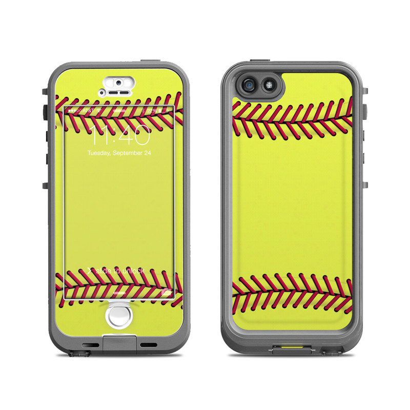 the latest 1cfb6 80b61 Lifeproof iPhone 5S Nuud Case Skin - Softball