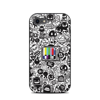 Lifeproof iPhone 7-8 Next Case Skin - TV Kills Everything