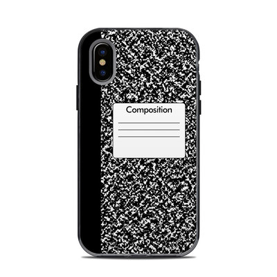Lifeproof iPhone X Next Case Skin - Composition Notebook