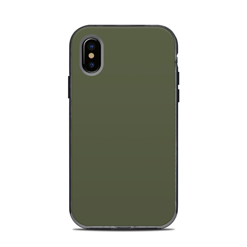 save off 1a9c8 98a86 Lifeproof iPhone X Next Case Skin - Solid State Olive Drab