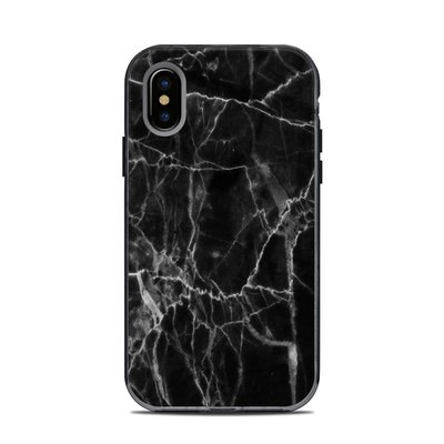Lifeproof iPhone XS Next Case Skin - Black Marble
