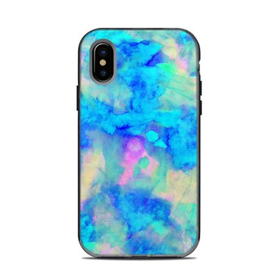 Lifeproof iPhone XS Next Case Skin - Electrify Ice Blue