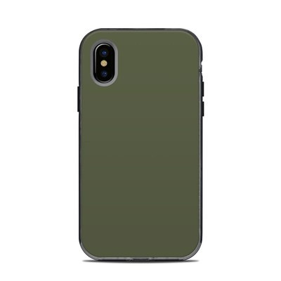 Lifeproof iPhone XS Next Case Skin - Solid State Olive Drab