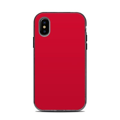 Lifeproof iPhone XS Next Case Skin - Solid State Red
