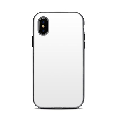 Lifeproof iPhone XS Next Case Skin - Solid State White