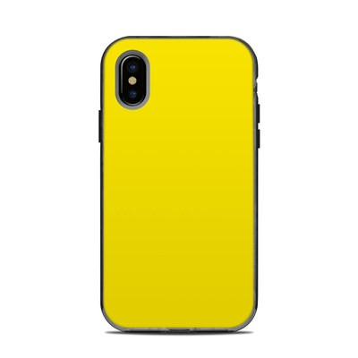 Lifeproof iPhone XS Next Case Skin - Solid State Yellow