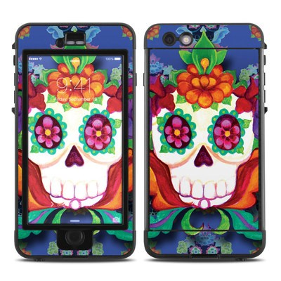 Lifeproof iPhone 6 Plus Nuud Case Skin - Altar Skull