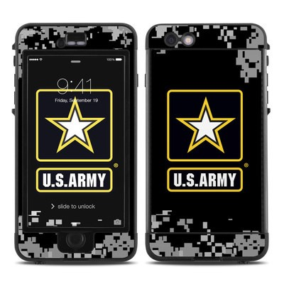 Lifeproof iPhone 6 Plus Nuud Case Skin - Army Pride
