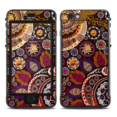 Lifeproof iPhone 6 Plus Nuud Case Skin - Autumn Mehndi