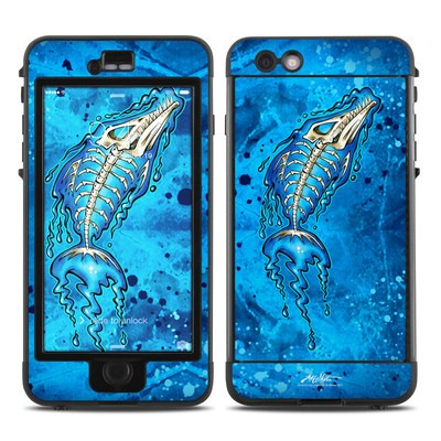 Lifeproof iPhone 6 Plus Nuud Case Skin - Barracuda Bones