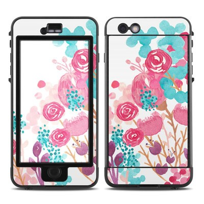 Lifeproof iPhone 6 Plus Nuud Case Skin - Blush Blossoms