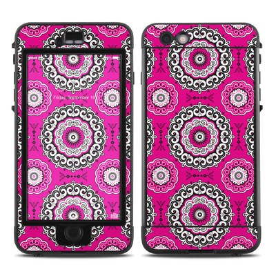 Lifeproof iPhone 6 Plus Nuud Case Skin - Boho Girl Medallions