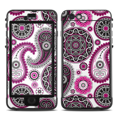 Lifeproof iPhone 6 Plus Nuud Case Skin - Boho Girl Paisley