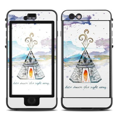 Lifeproof iPhone 6 Plus Nuud Case Skin - Boho Teepee
