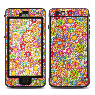Lifeproof iPhone 6 Plus Nuud Case Skin - Bright Ditzy