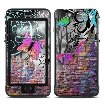 Lifeproof iPhone 6 Plus Nuud Case Skin - Butterfly Wall