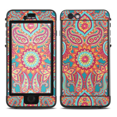 Lifeproof iPhone 6 Plus Nuud Case Skin - Carnival Paisley