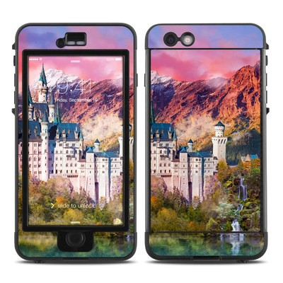 Lifeproof iPhone 6 Plus Nuud Case Skin - Castle Majesty