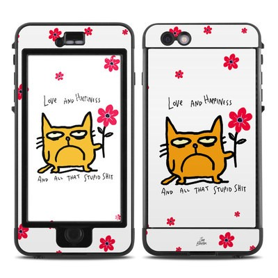 Lifeproof iPhone 6 Plus Nuud Case Skin - Catwad Happy
