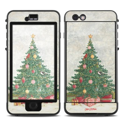 Lifeproof iPhone 6 Plus Nuud Case Skin - Christmas Wonderland