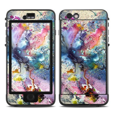 Lifeproof iPhone 6 Plus Nuud Case Skin - Cosmic Flower