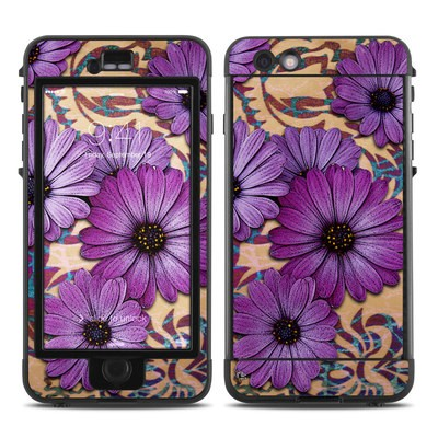Lifeproof iPhone 6 Plus Nuud Case Skin - Daisy Damask