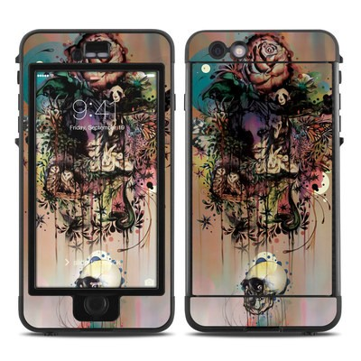 Lifeproof iPhone 6 Plus Nuud Case Skin - Doom and Bloom